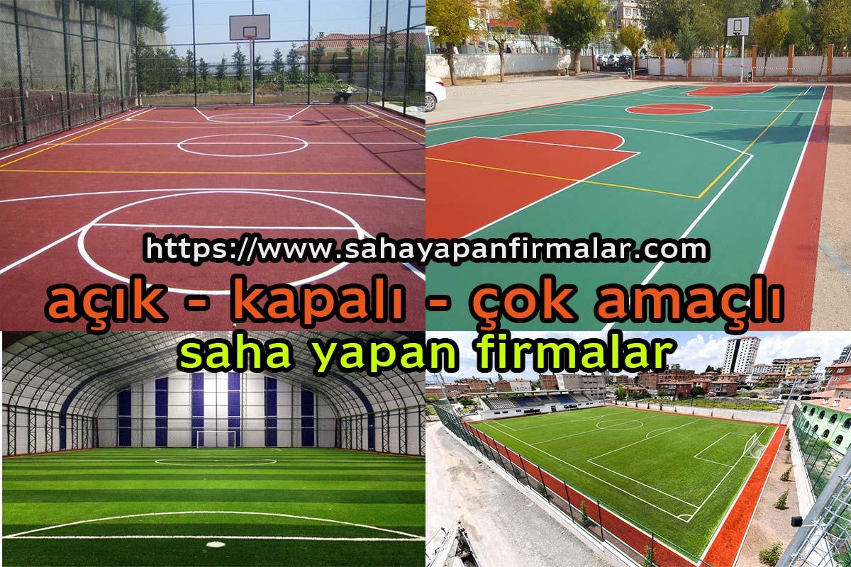 Adana da Halı Saha yapım Hizmetleri
