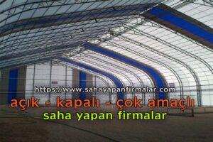 kapalı halı saha yapım firması